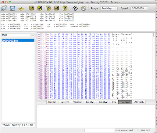 Progress on BDM programming the Td5 ECU   DiscoTD5 com